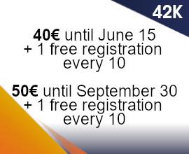 42K groups fees