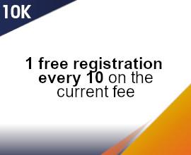 10K groups fees